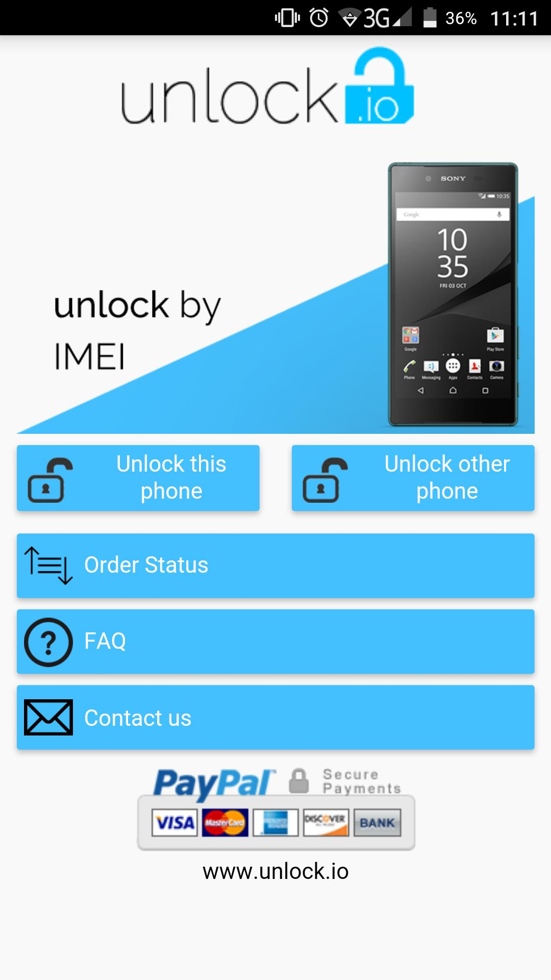 Unlock your Sony Xperia for Android - APK Download