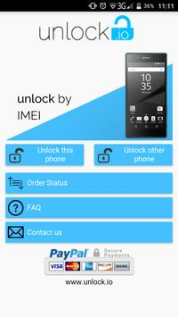 Unlock your Sony Xperia poster