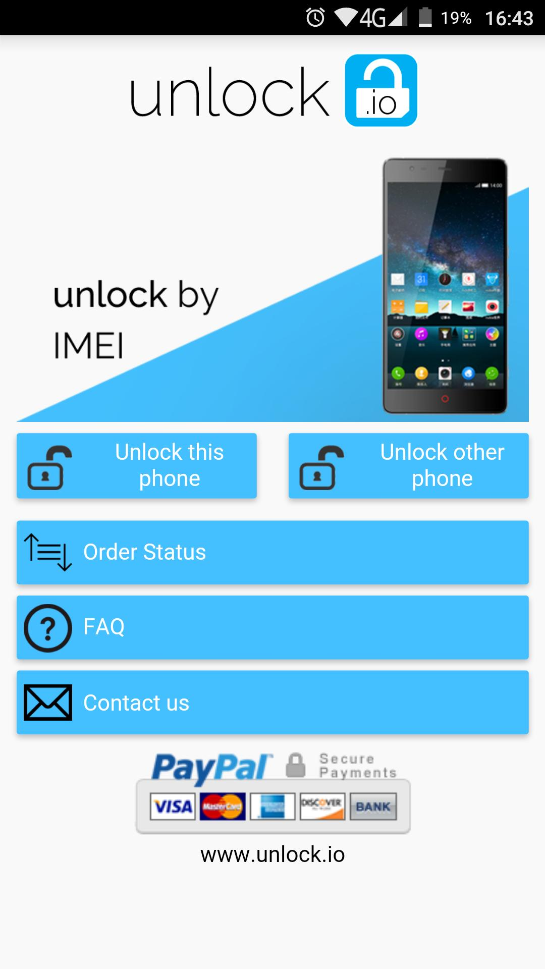 Unlock your ZTE phone for Android - APK Download