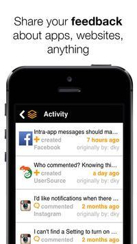 UserSource - visual feedback screenshot 13