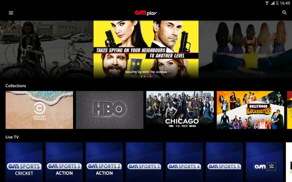 OSN Play captura de pantalla 5