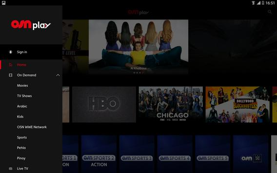 OSN Play captura de pantalla 6