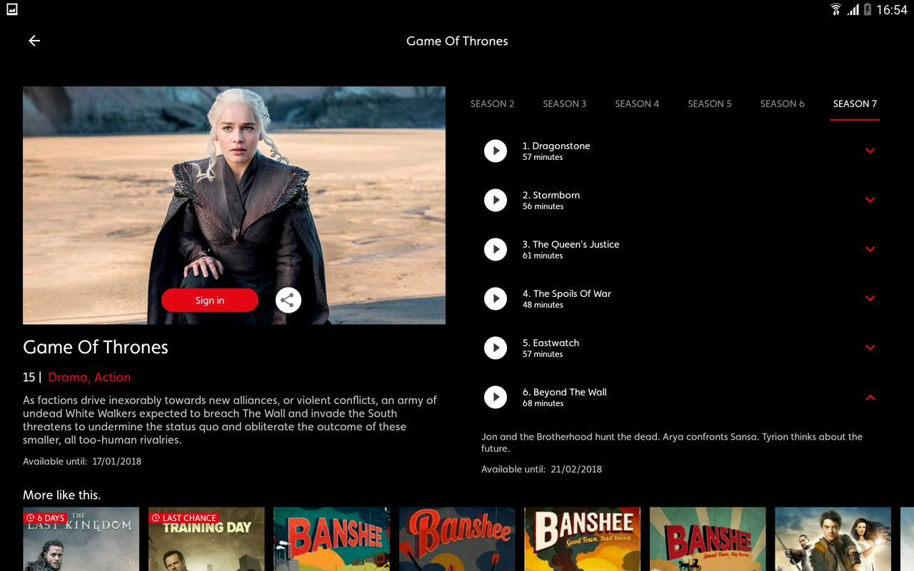 Osn play game of thrones