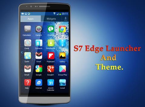 S7 Edge Theme and Launcher screenshot 3