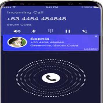 identificador de llamadas y localizador poster