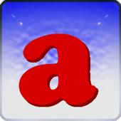 Fridge Letter Magnets Widget icon