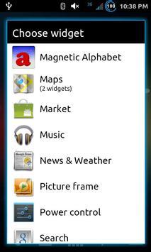 Fridge Letter Magnets Widget screenshot 2
