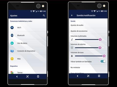 Tema-SXP Blue Rosa screenshot 1