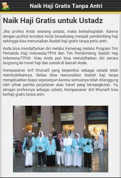 Haji Gratis Tanpa Antri apk screenshot