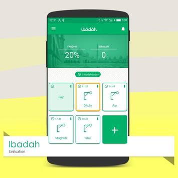 Ibadah Evaluation - Amal Yaumi poster