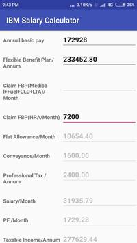 IBM Salary Calculator screenshot 1