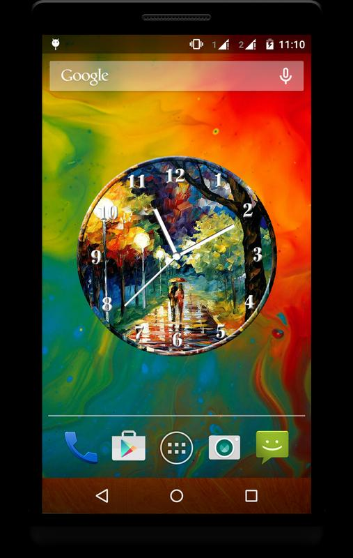 Art Clock Live Wallpaper For Android Apk Download