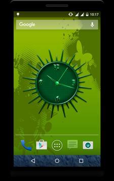 Awesome Clock Live Wallpaper apk screenshot