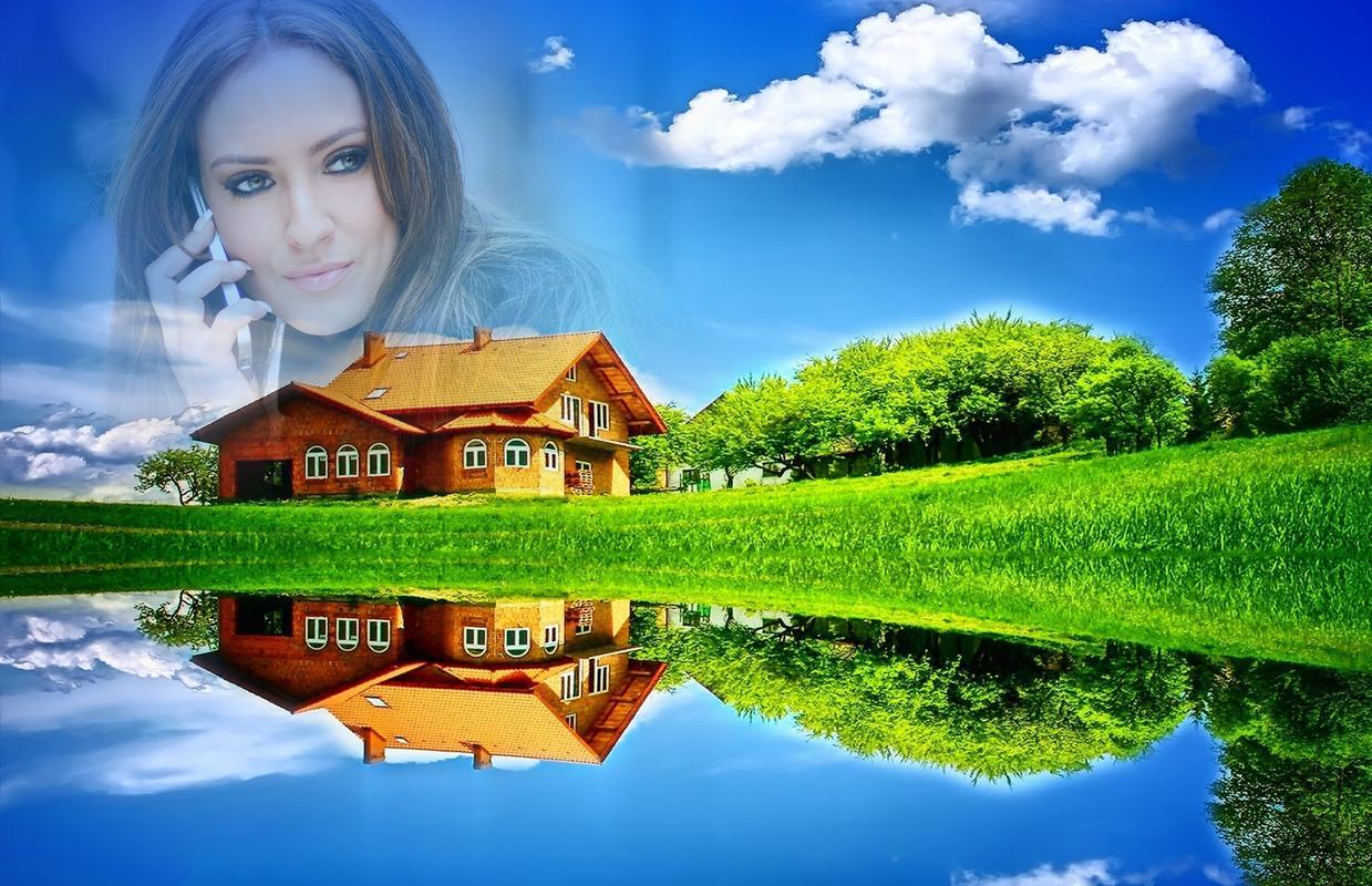 Bingkai foto alam apk download gratis fotografi apl for My house wallpaper