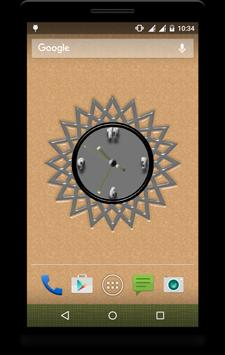 Super Clock Live Wallpaper apk screenshot