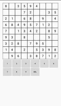 Sudoku apk screenshot