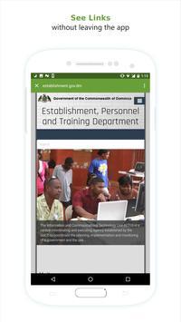 Dominica Government Directory apk screenshot