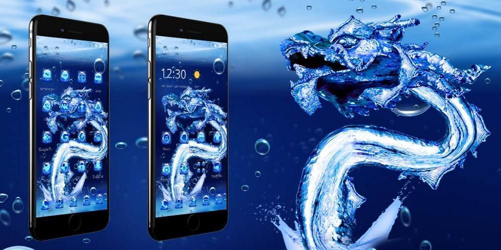 Android 用の 氷のドラゴン壁紙 Apk をダウンロード