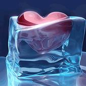 Ice Love Heart Frozen icon