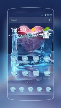 Ice Love Heart Frozen poster