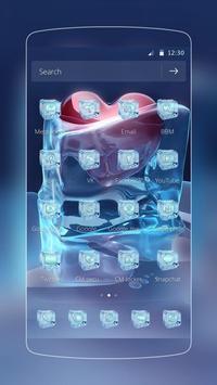 Ice Love Heart Frozen screenshot 1