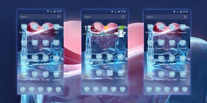 Ice Love Heart Frozen apk screenshot