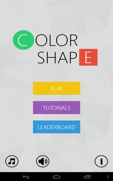 Color Shape - Connecting Game poster