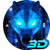 Ice Wolf 3D Keyboard Theme APK