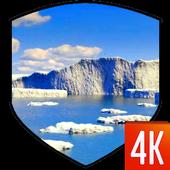 Iceberg Video Wallpaper icon