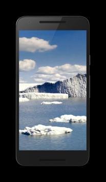 Iceberg Video Wallpaper poster