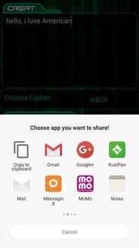 Cipher Decoder Cipher Solver screenshot 3