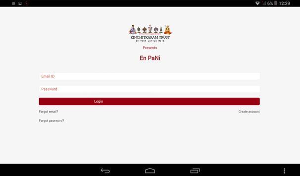 Kinchit En Pani apk screenshot