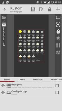 Weather IconPack Maker Kustom poster