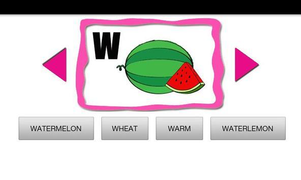 ABC Fruit Quiz apk screenshot