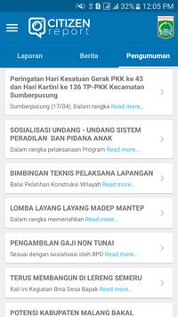 Citizen Report Kabupaten Malang screenshot 5