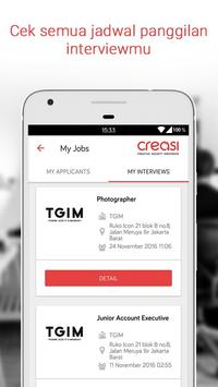 CREASI - Creative Job Search apk screenshot