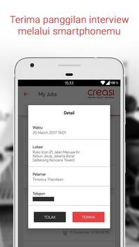 CREASI - Creative Job Search apk screenshot