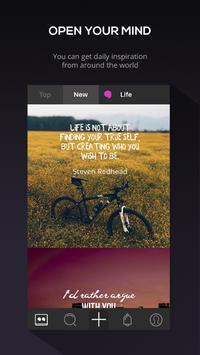 Inspire — Quotes Generator apk screenshot