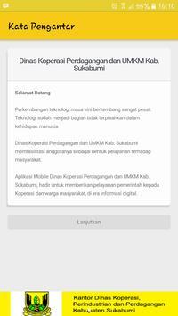 Dinas Koperasi Kab Sukabumi screenshot 1