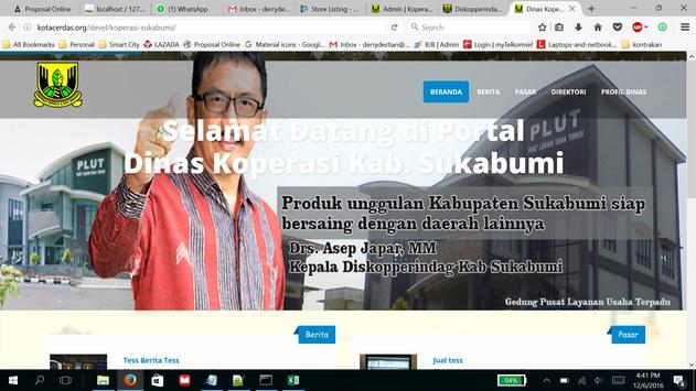 Dinas Koperasi Kab Sukabumi screenshot 8