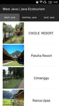 Java Ecotourism apk screenshot