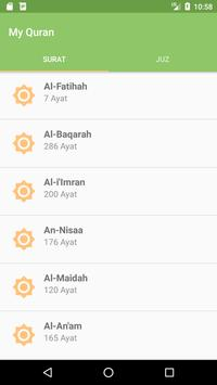 My Quran apk screenshot
