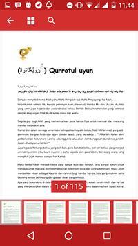 Qurrotul Uyun Apps apk screenshot