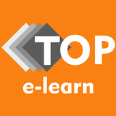 E Learning by TOP e-learn icon