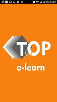 E Learning by TOP e-learn poster