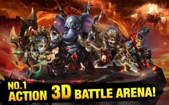 The Battle of Gods-Apocalypse poster