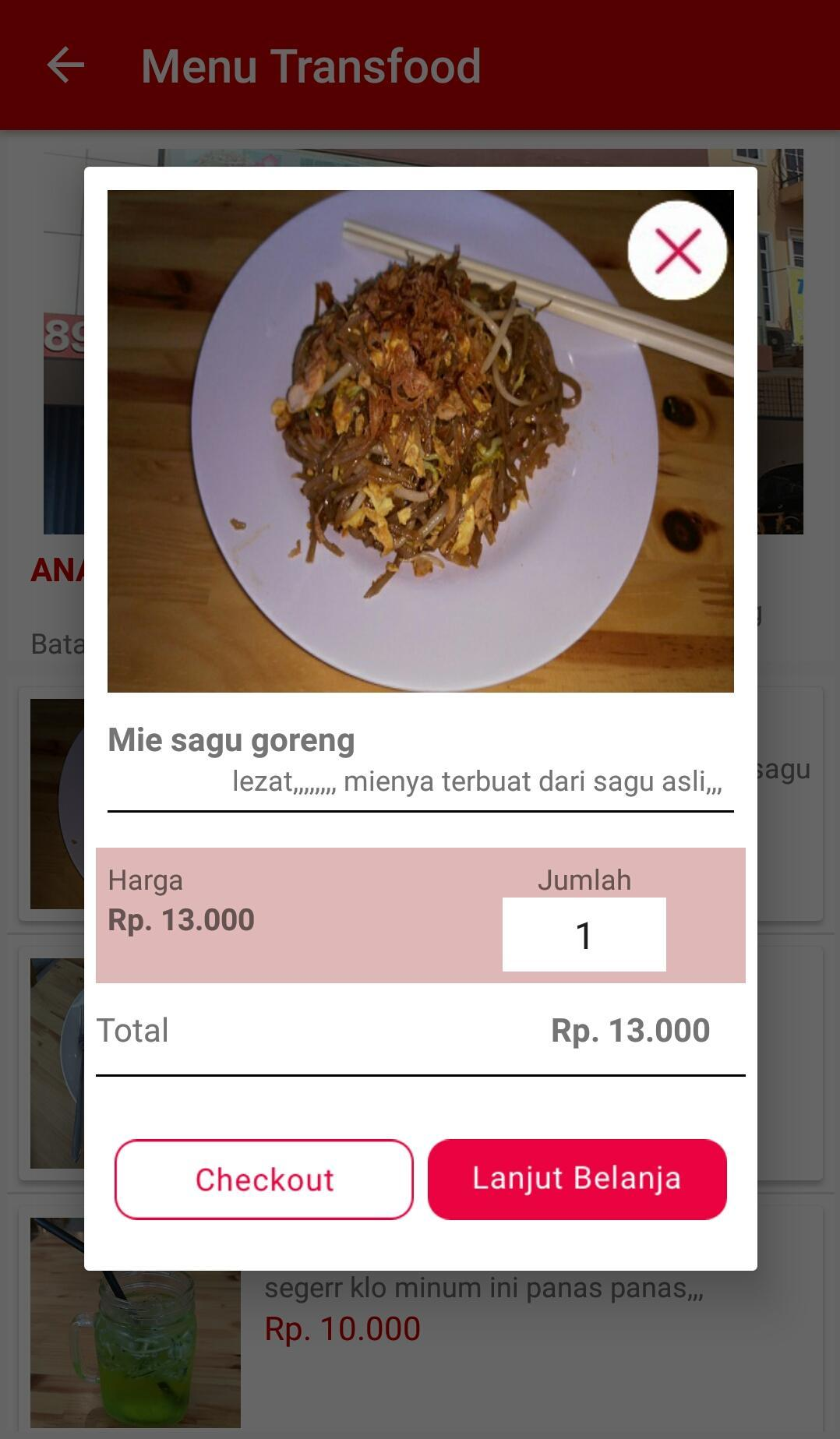 Transfood for Android - APK Download