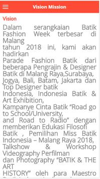 Malang Batik Parade screenshot 2