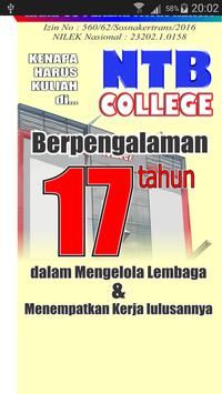 NTB COLLEGE poster