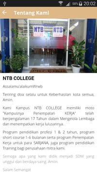 NTB COLLEGE screenshot 2